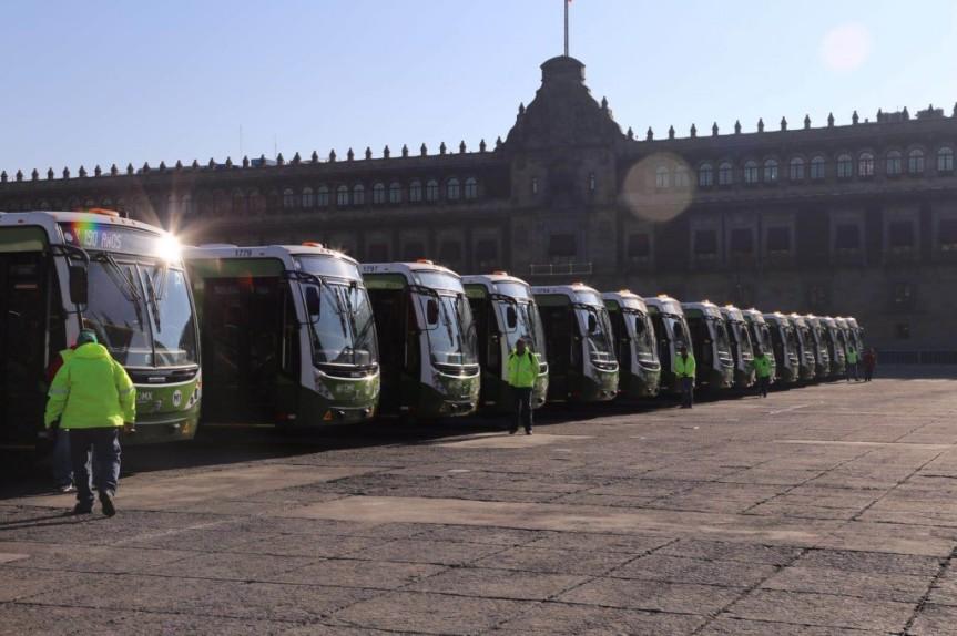 Circularán camiones menos contaminantes enCDMX