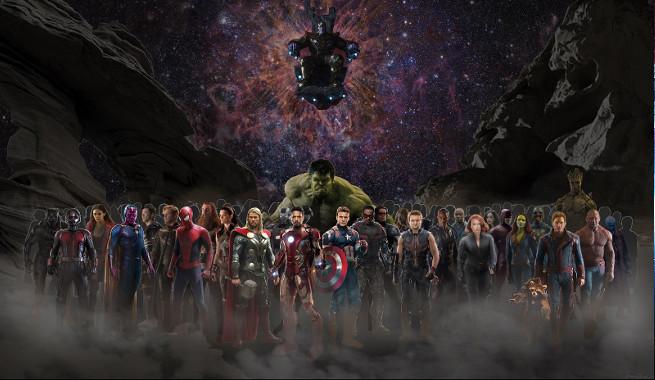 The Avengers: Infinity War marcaráhistoria