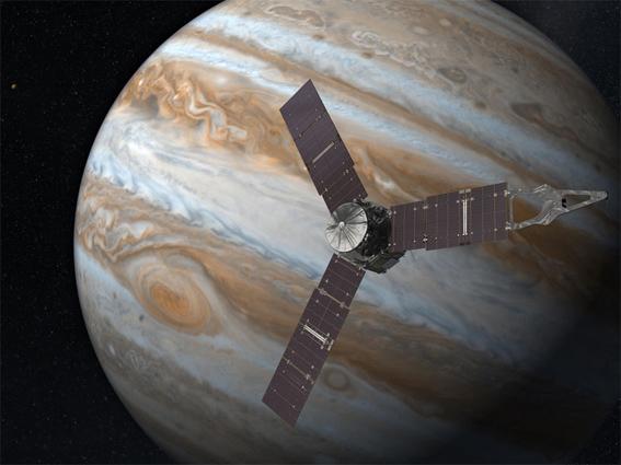 La Sonda Juno llegó aJupiter