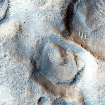 Mesetas del Norte de Marte