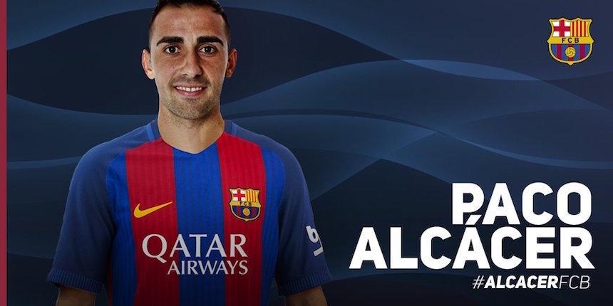 Barça hace oficial la llegada de PacoAlcácer