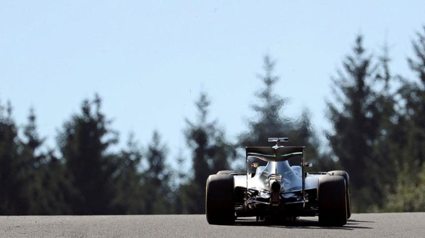 Nico Rosberg ganó el GP de Bélgica sinproblemas