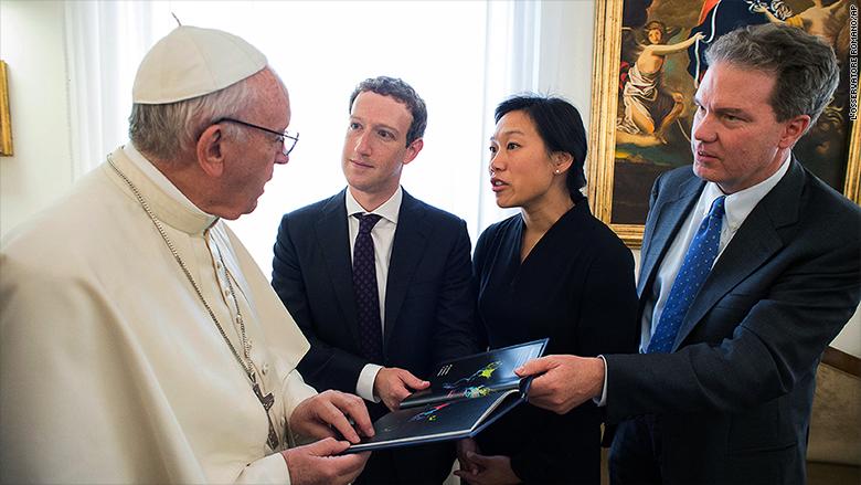 ¿De qué hablaron Zuckerberg y el PapaFrancisco?